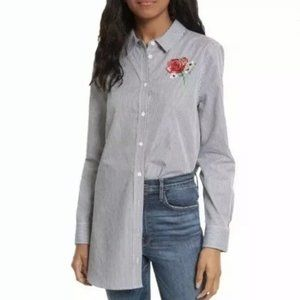 Equipment Femme floral embroidered tunic